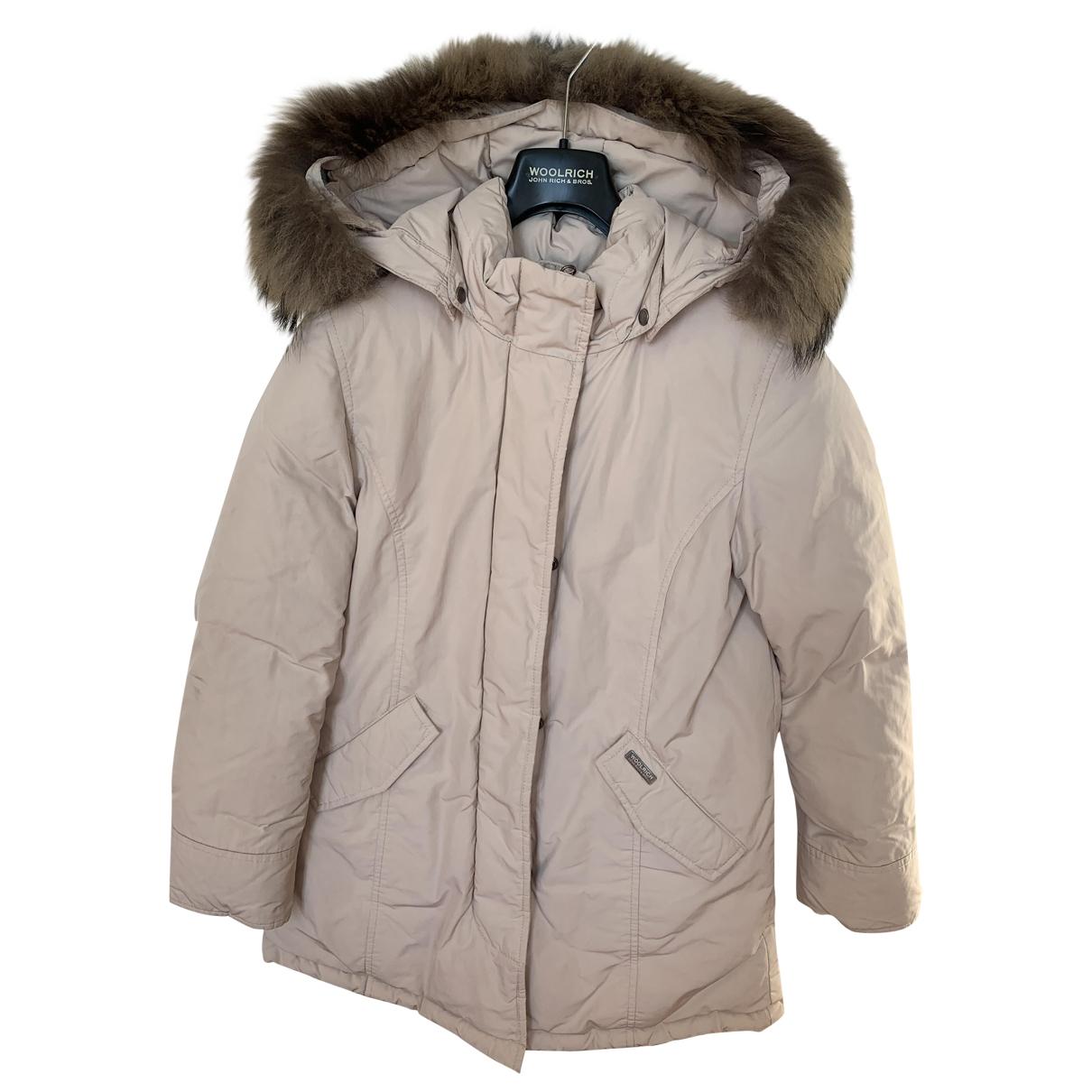 Woolrich - Blousons.Manteaux   pour enfant - rose