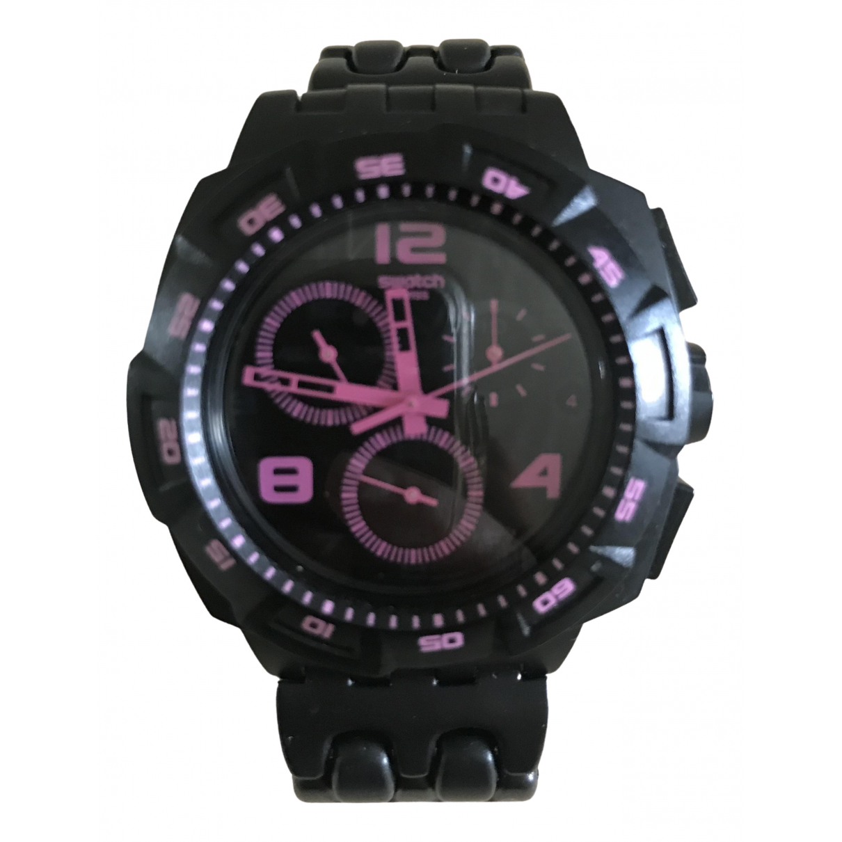 Swatch \N Black Steel watch for Women \N