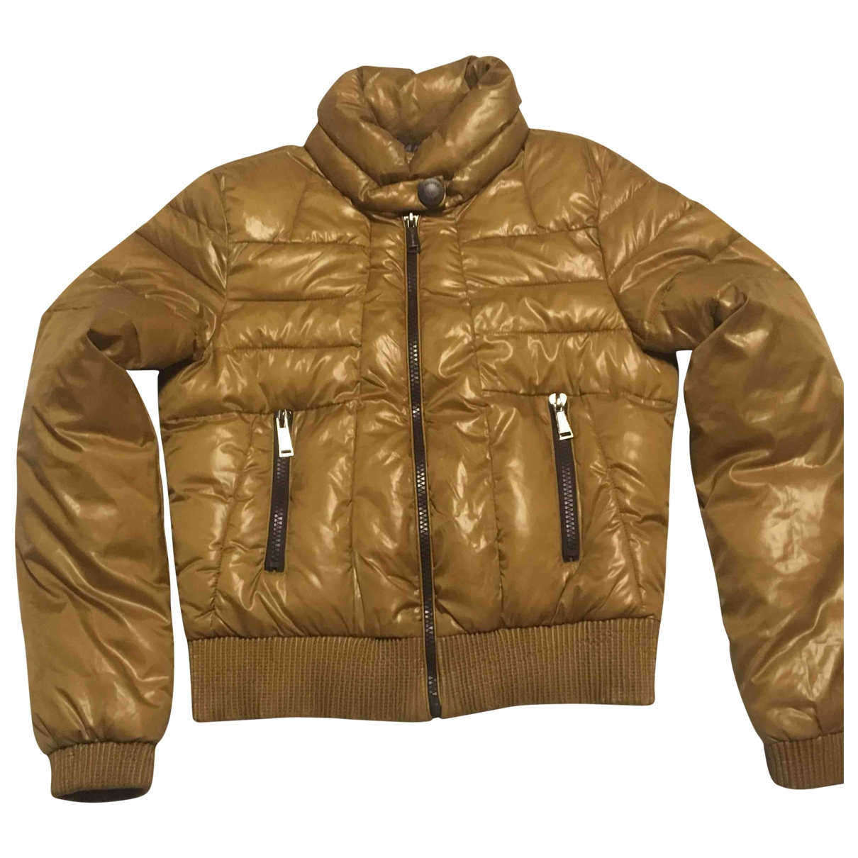 Non Signé / Unsigned \N Gold jacket for Women 38 FR