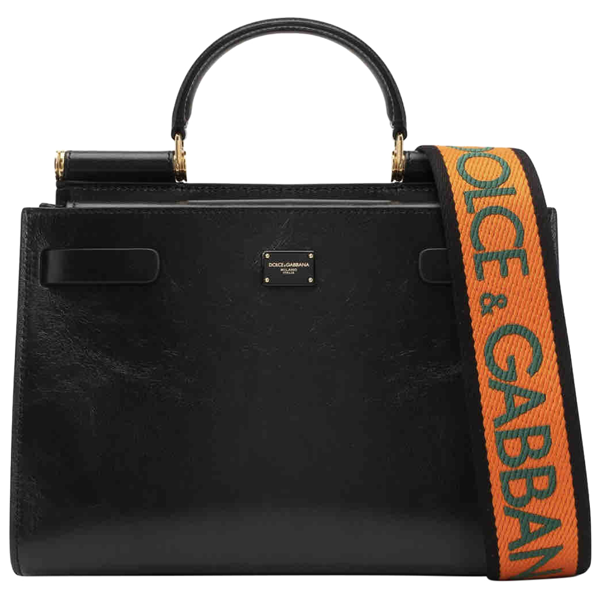 Dolce & Gabbana Sicily 62 Black Leather handbag for Women N