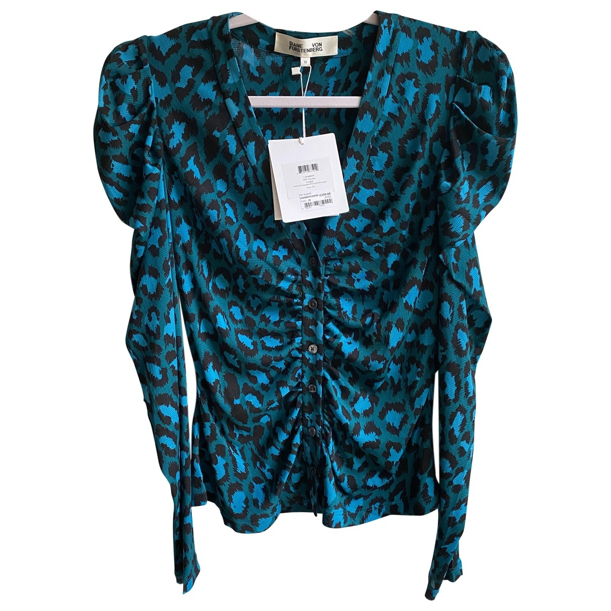 Diane Von Furstenberg \N Turquoise  top for Women 10 US