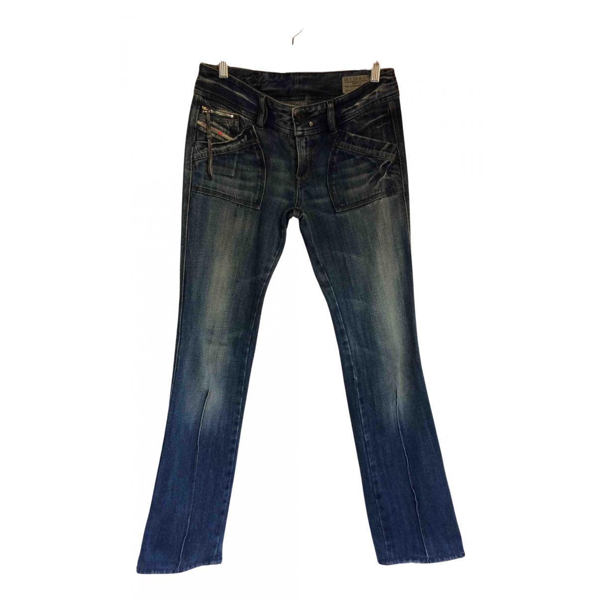 Diesel N Blue Denim - Jeans Trousers for Women 38 IT