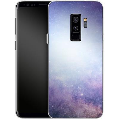 Samsung Galaxy S9 Plus Silikon Handyhuelle - Star Nebula von caseable Designs