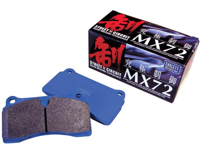 Endless EP 312 MX72 R MX72 Ceramic Carbon Brake Pads Rear Honda Accord  03-07