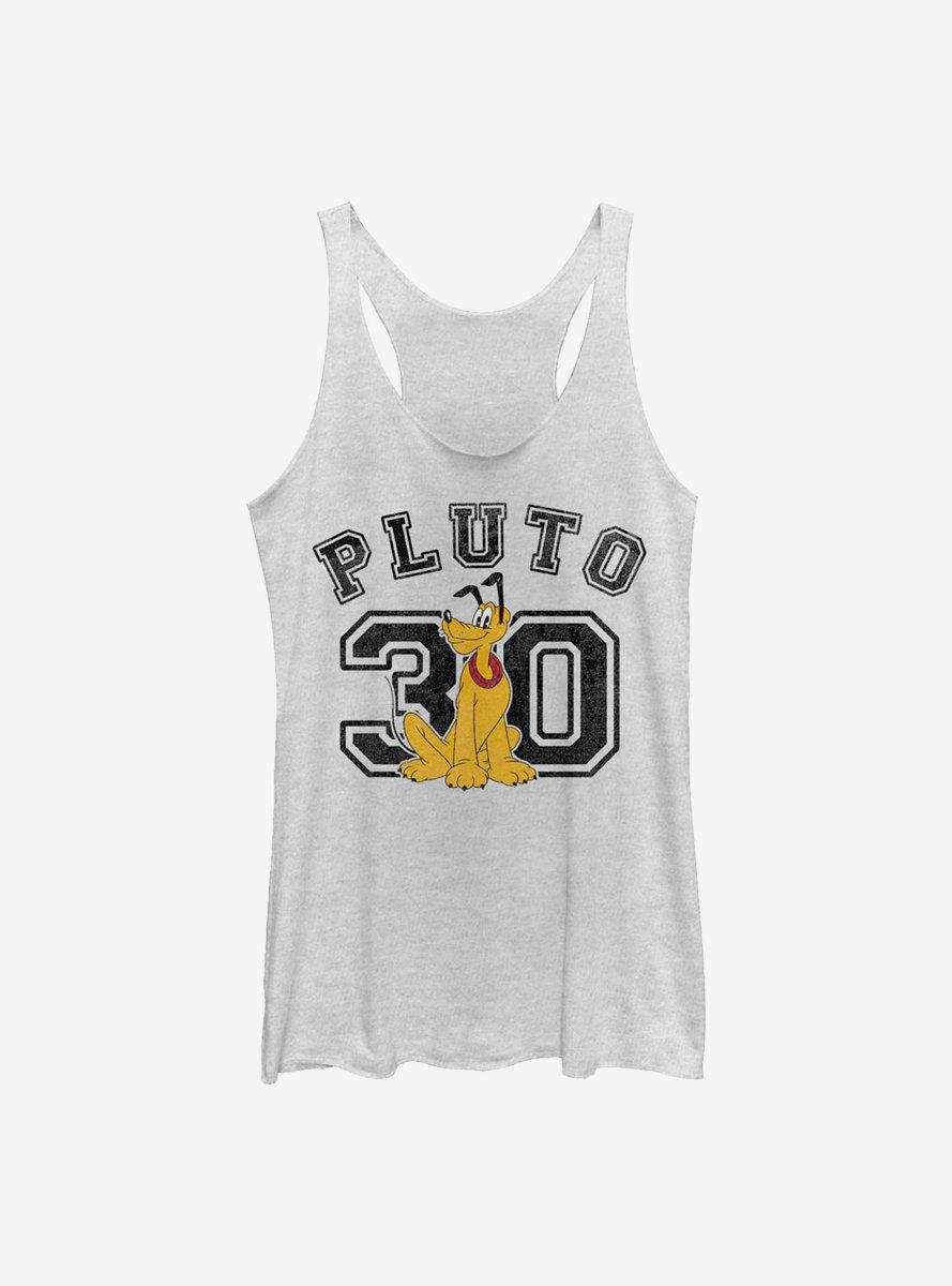 Disney Pluto Collegiate Womens Tank Top