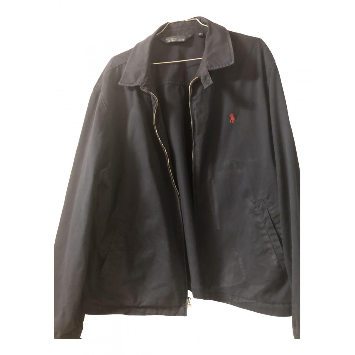 Polo Ralph Lauren \N Jacke in  Blau Baumwolle