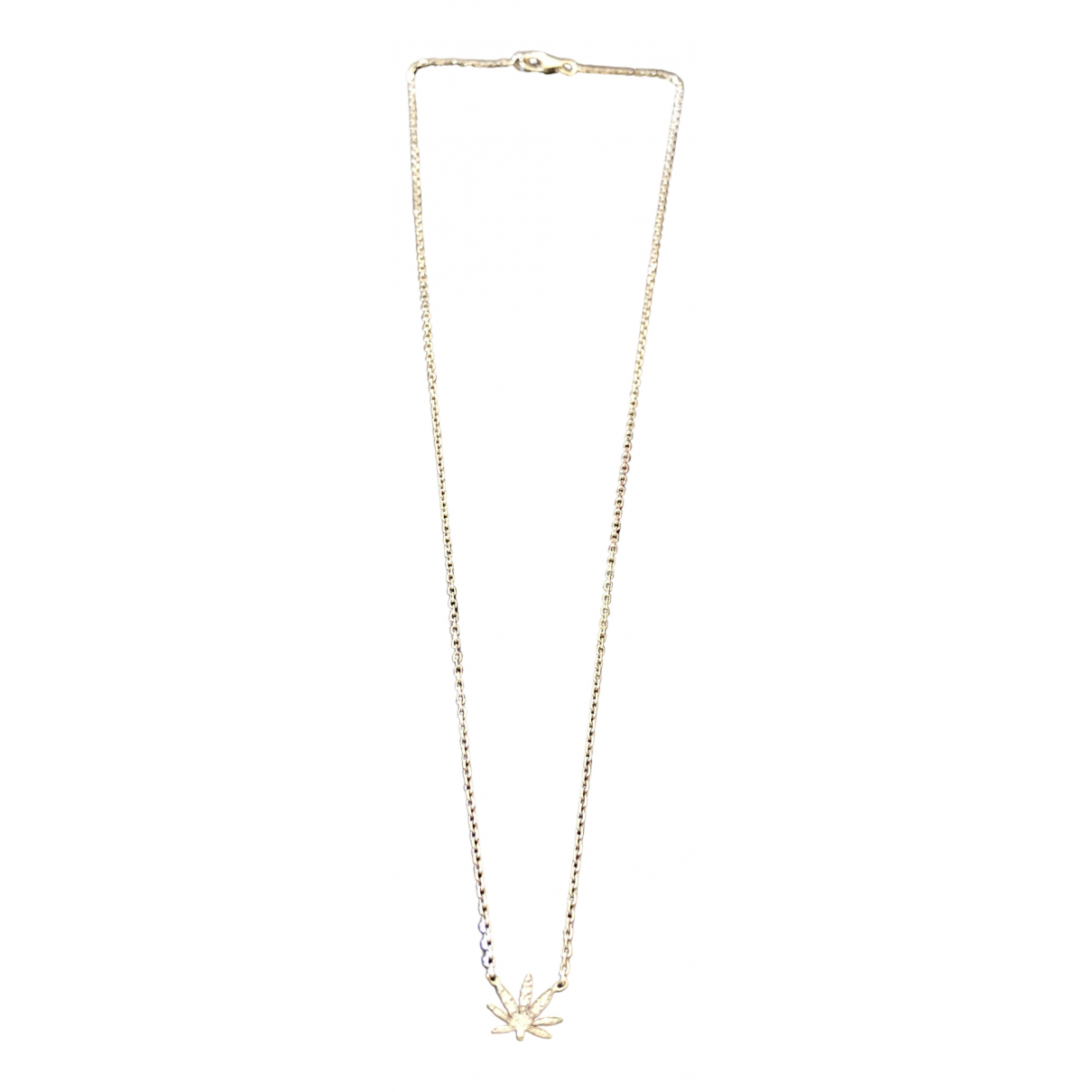 Stone Paris - Collier   pour femme en or blanc - gris
