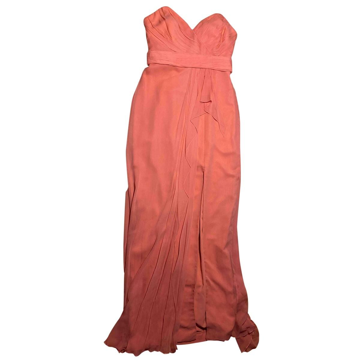 Marchesa Notte \N Pink Silk dress for Women 8 US