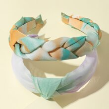 2 piezas aro de pelo de tie dye