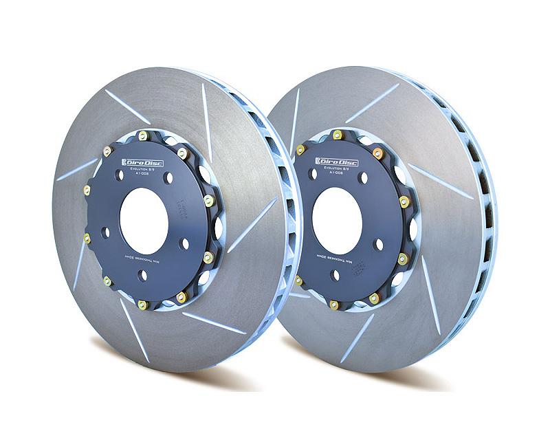 Girodisc A1-008 2 Piece Ultralite Front Rotors Mitsubishi Evo VII 01-02