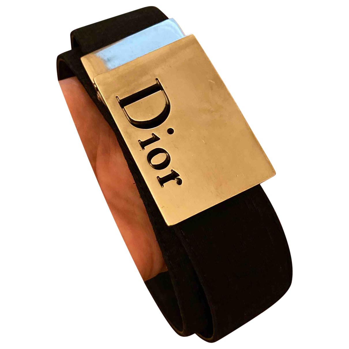 Cinturon de Lona Dior