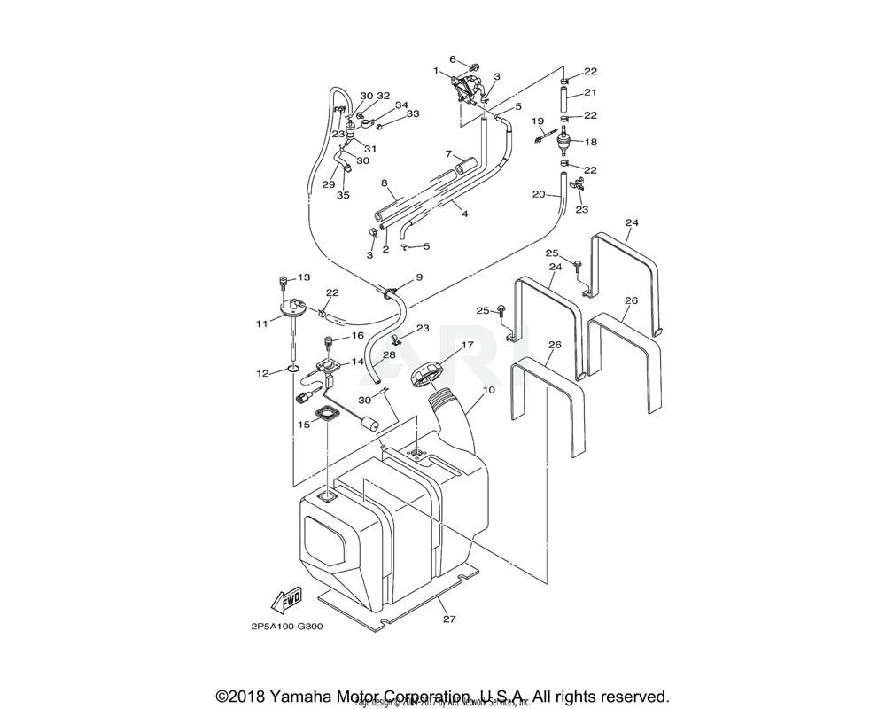 Yamaha OEM 5UG-14271-50-00 INSULATOR
