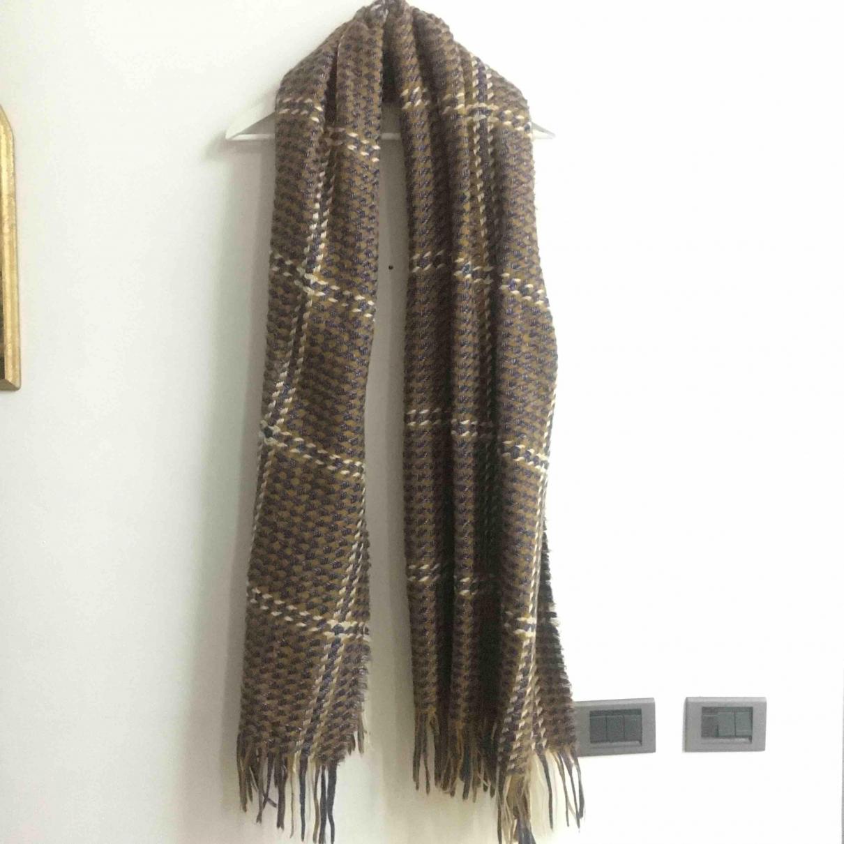 Zara - Foulard   pour femme en laine - multicolore