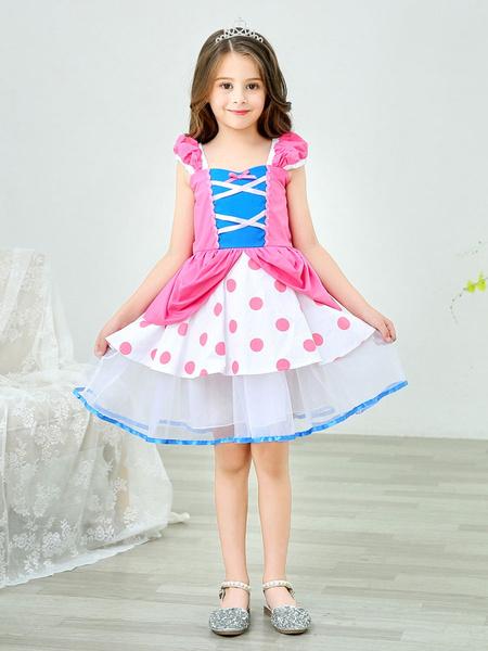 Milanoo Disney Toy Story 4 Bo Peep Vestido Cosplay Disfraz Halloween