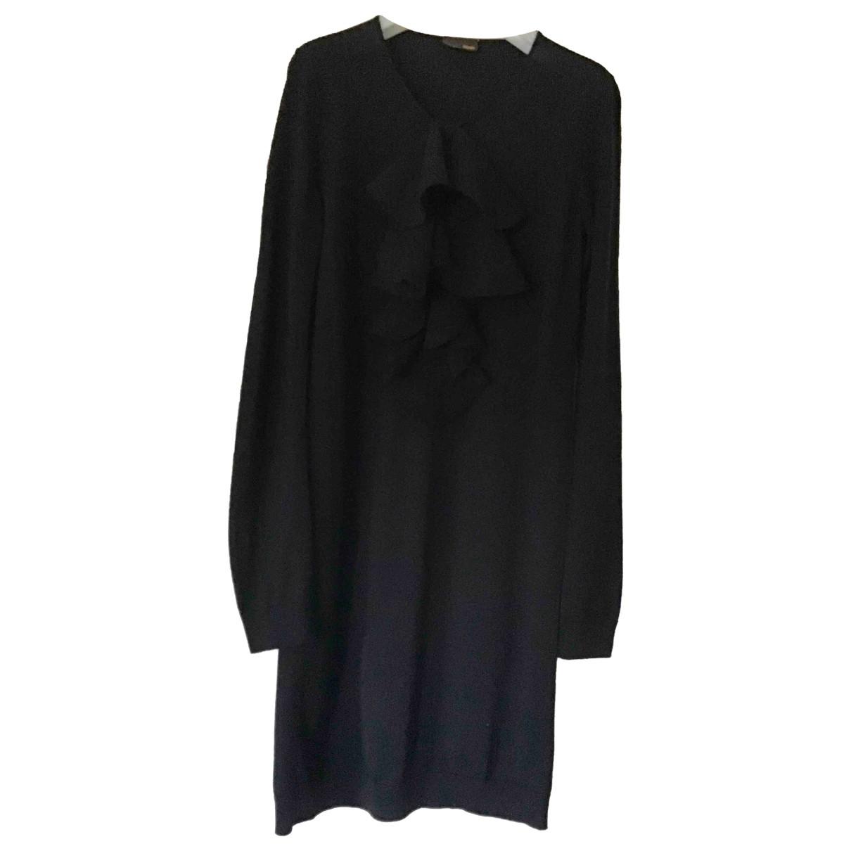 Fendi - Robe   pour femme en laine - noir