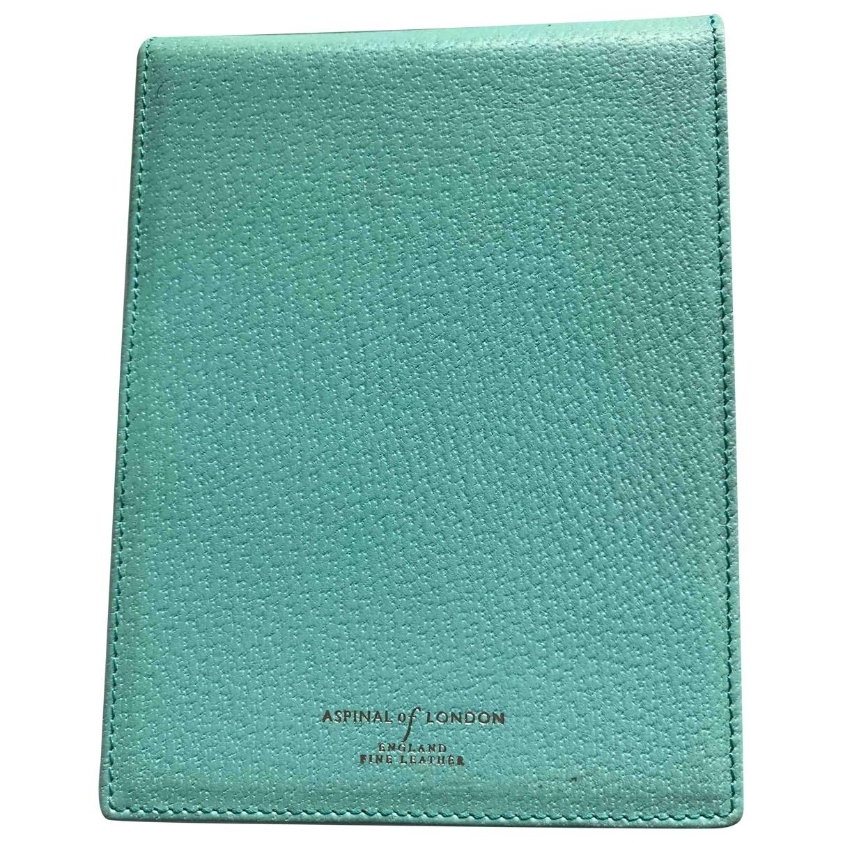 Cuaderno de Cuero Aspinal Of London