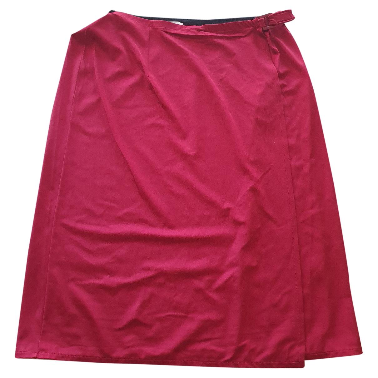Dolce & Gabbana \N Burgundy skirt for Women 44 IT