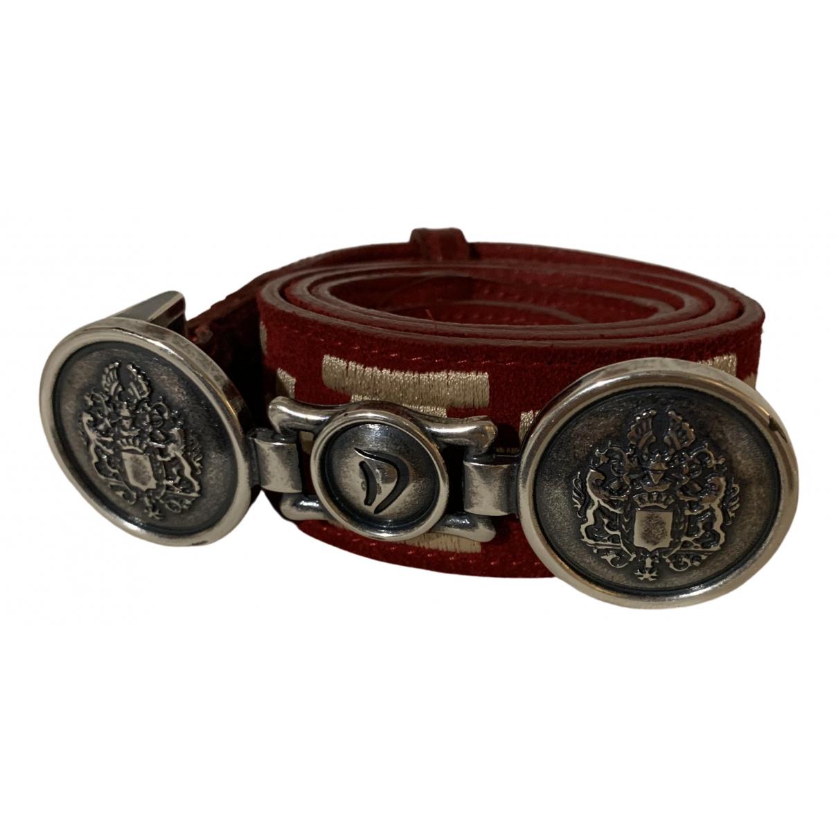 Cinturon de Cocodrilo Dondup