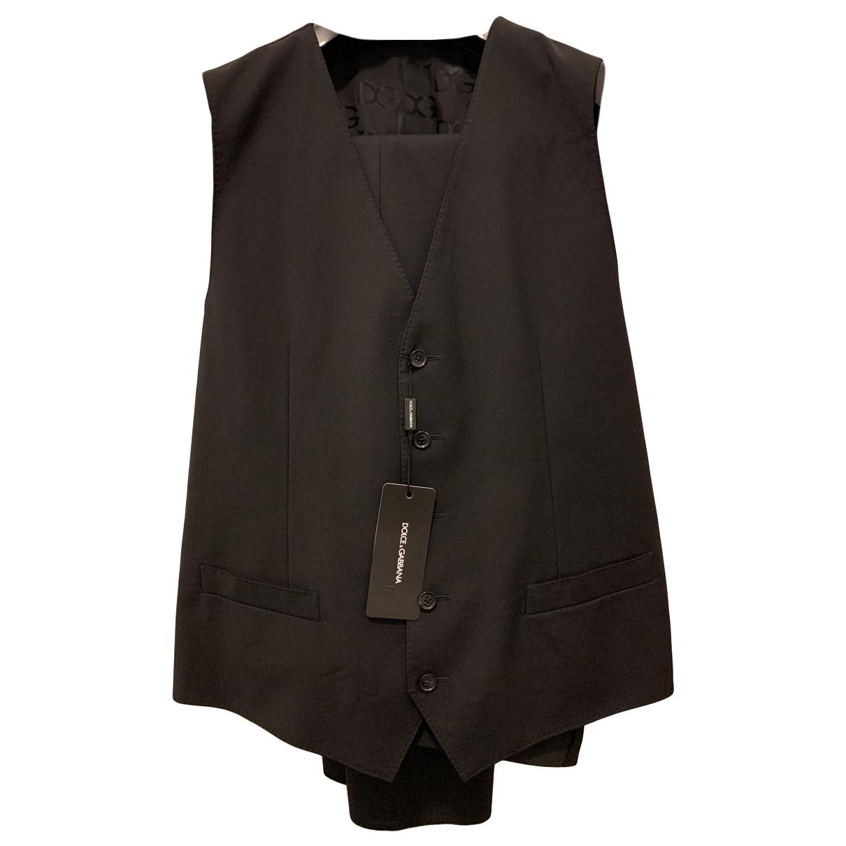 Dolce & Gabbana N Black Wool Knitwear & Sweatshirts for Men 48 IT
