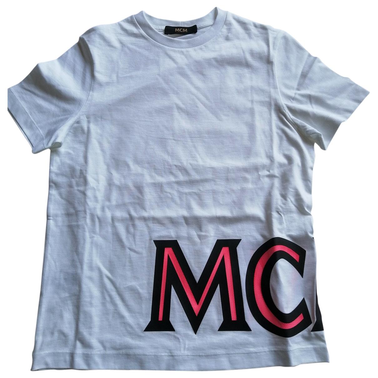 Mcm \N White Cotton  top for Women XS