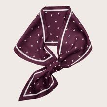 Schal mit Herzen Muster