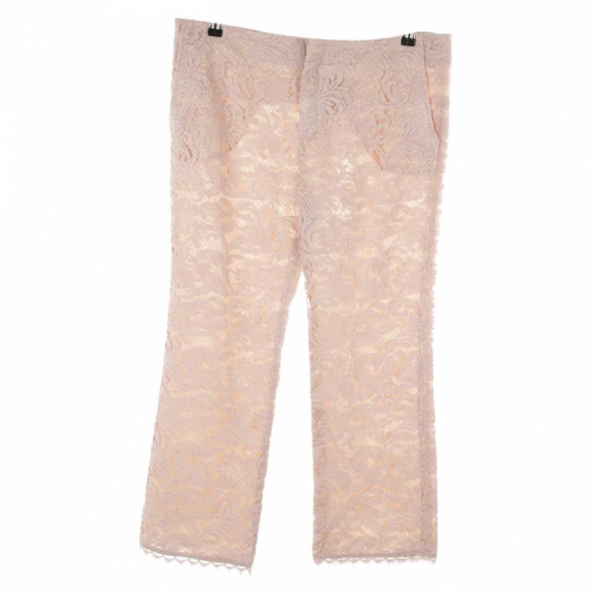 Sly010 \N Pink Cotton Trousers for Women 40 FR