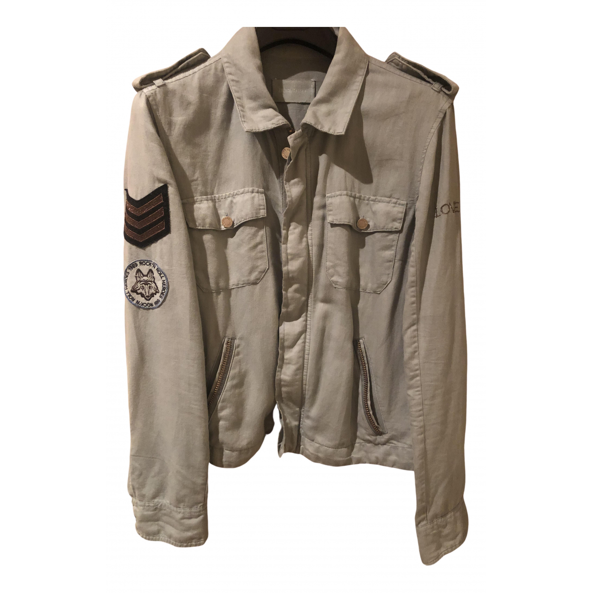 Zadig & Voltaire \N Green Cotton jacket for Women M International