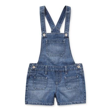 Squeeze Big Girls Shortalls, 7 , Blue