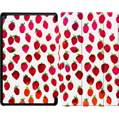 Amazon Fire HD 10 (2017) Tablet Smart Case - Strawberries von Amy Sia