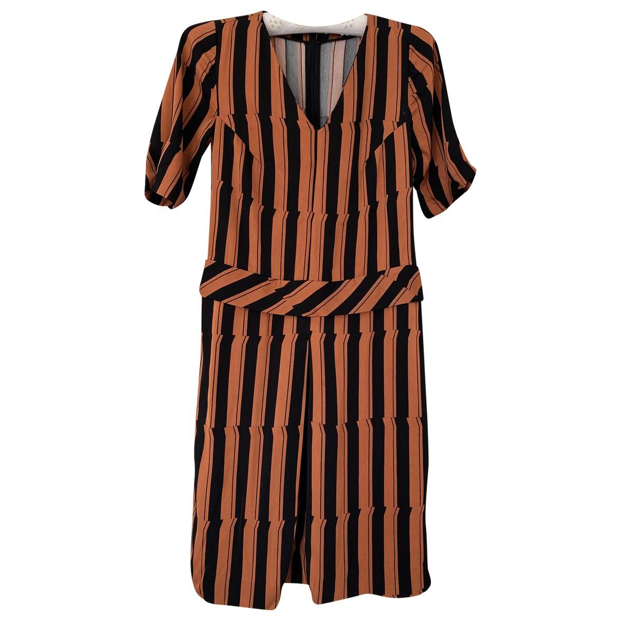 Bimba Y Lola \N Kleid in  Orange Polyester
