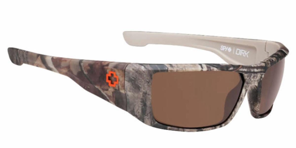 Spy DIRK Polarized 672052158885 Men's Sunglasses Brown Size 64