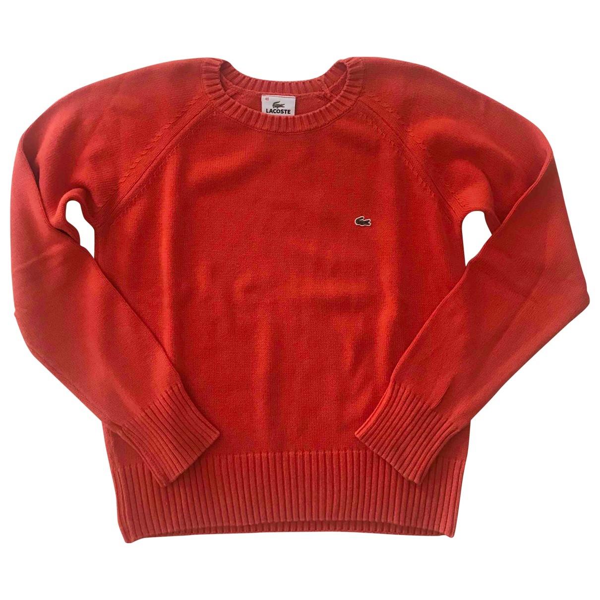 Lacoste \N Orange Cotton Knitwear for Women 40 IT