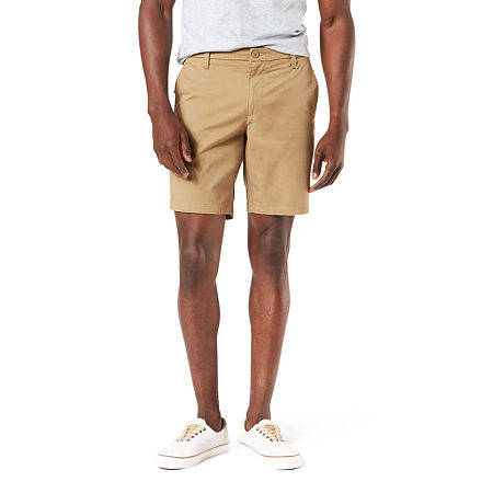 Dockers Mens Chino Short-Big and Tall, 56 , Beige