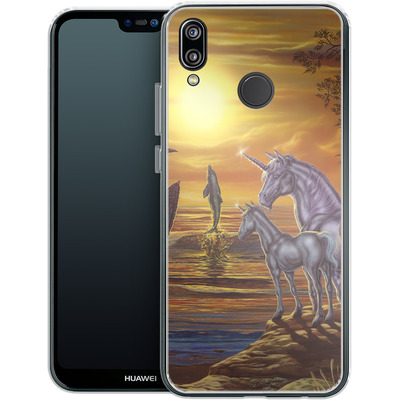 Huawei P20 Lite Silikon Handyhuelle - Ed Beard Jr - Mystical Occurance von TATE and CO