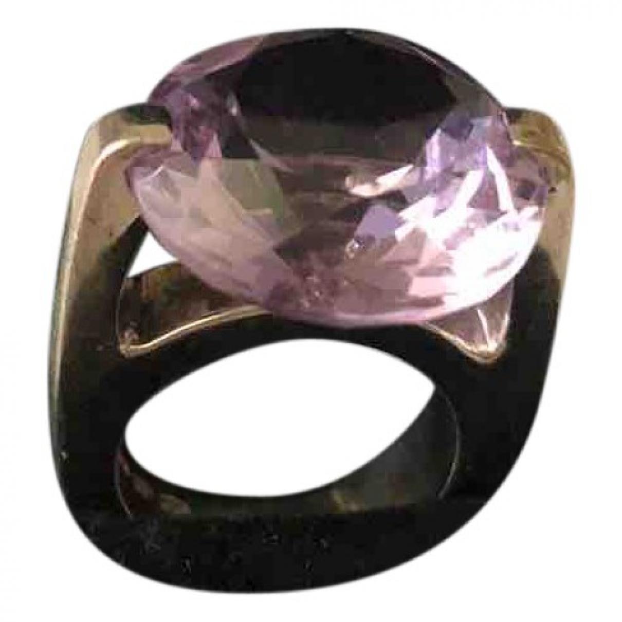 Pianegonda \N Ring in  Lila Silber