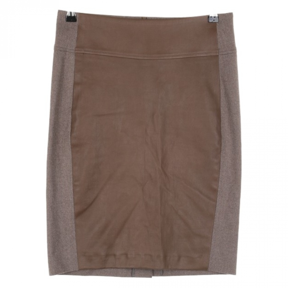 Brunello Cucinelli \N Beige Wool skirt for Women 34 FR