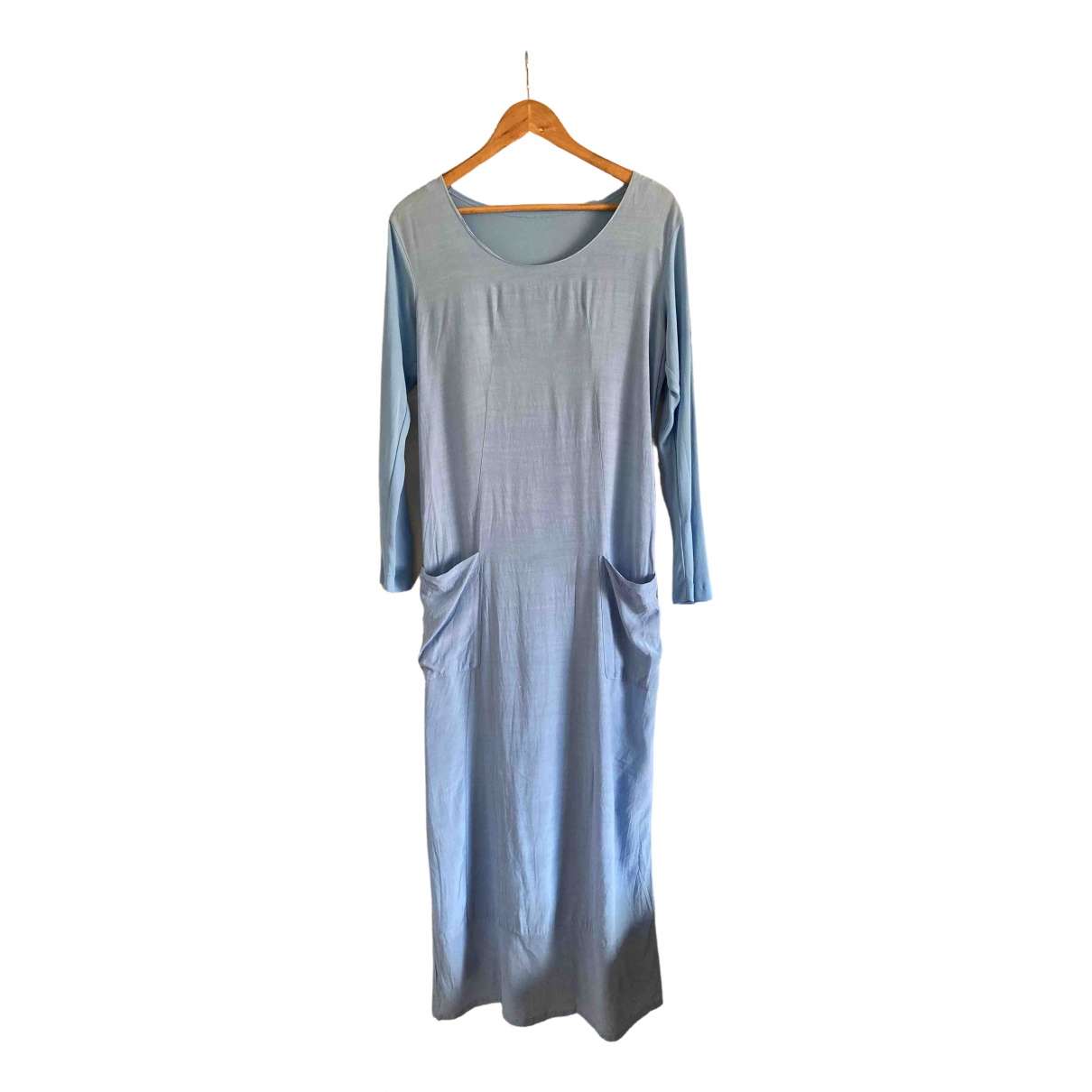 Comme Des Garcons \N Kleid in  Blau Polyester