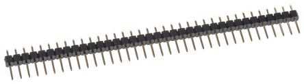 ASSMANN WSW , AW140, 36 Way, 1 Row, Straight Pin Header (5)
