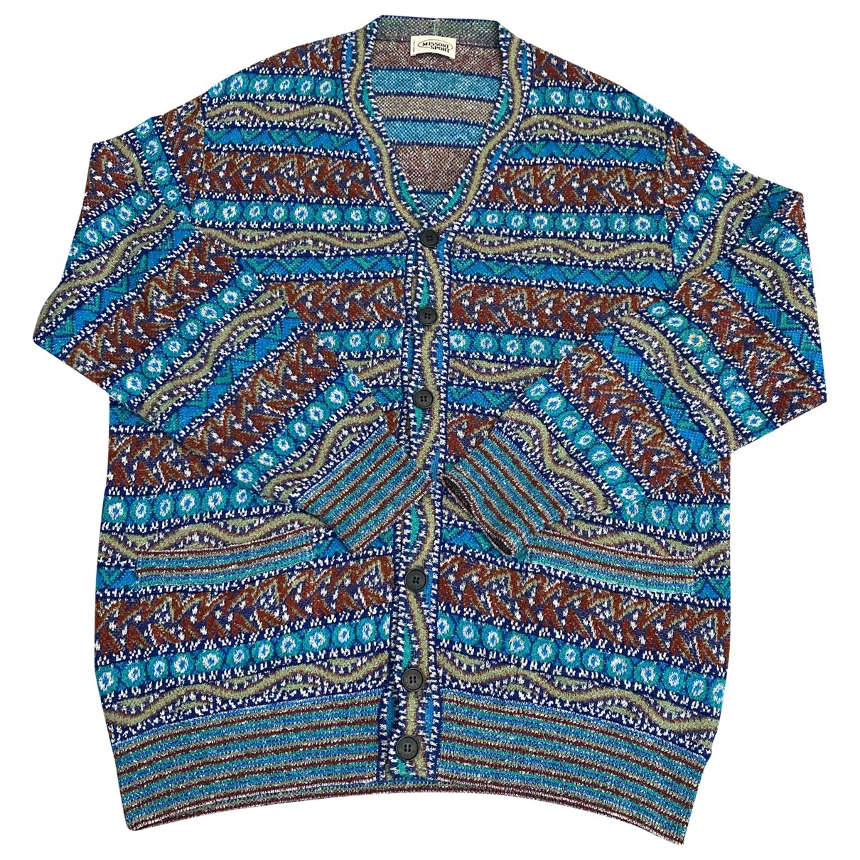Missoni \N Multicolour Cotton Knitwear & Sweatshirts for Men 52 IT
