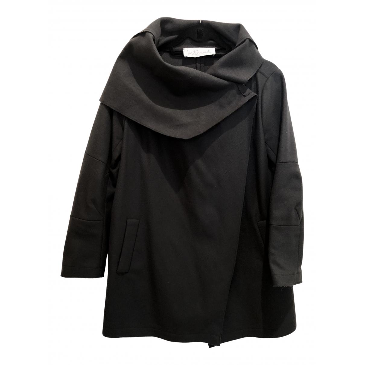Intrend - Manteau   pour femme en laine - gris