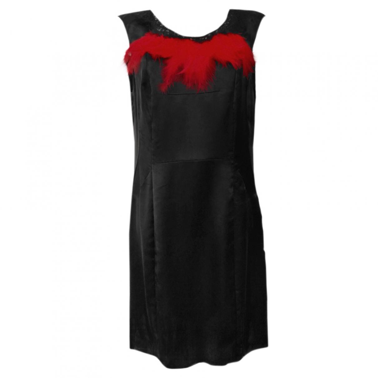 Balenciaga \N Black Cotton dress for Women 42 FR