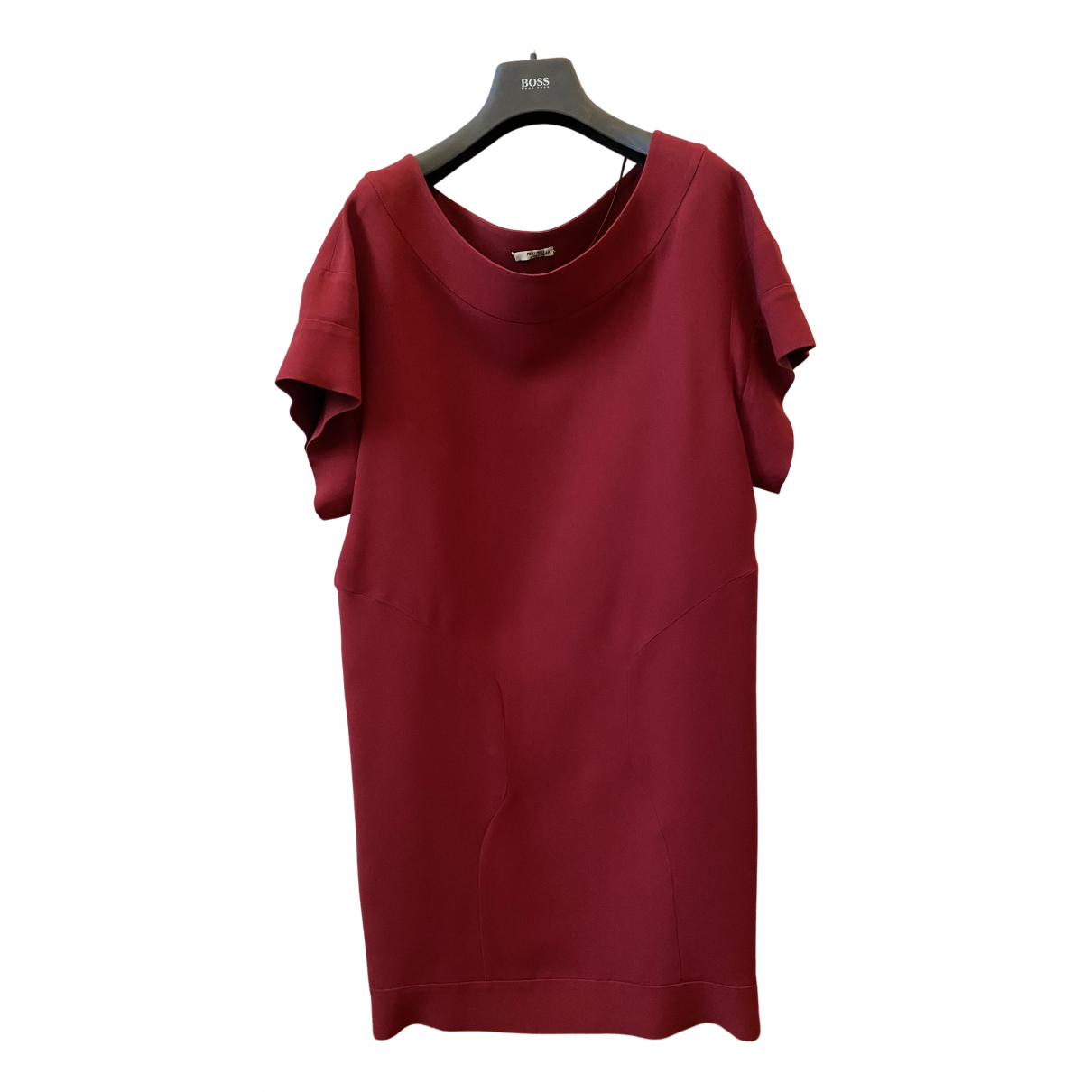 Miu Miu \N Burgundy dress for Women 40 IT