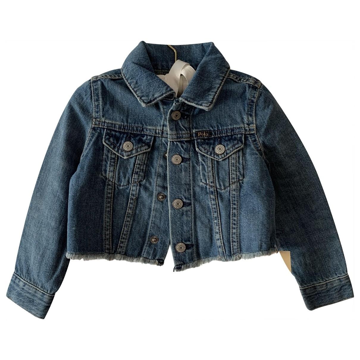 Polo Ralph Lauren \N Jacke, Maentel in  Blau Denim - Jeans