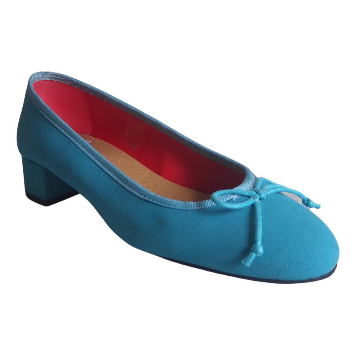 Good Guys \N Blue Cloth Ballet flats for Women 41 EU