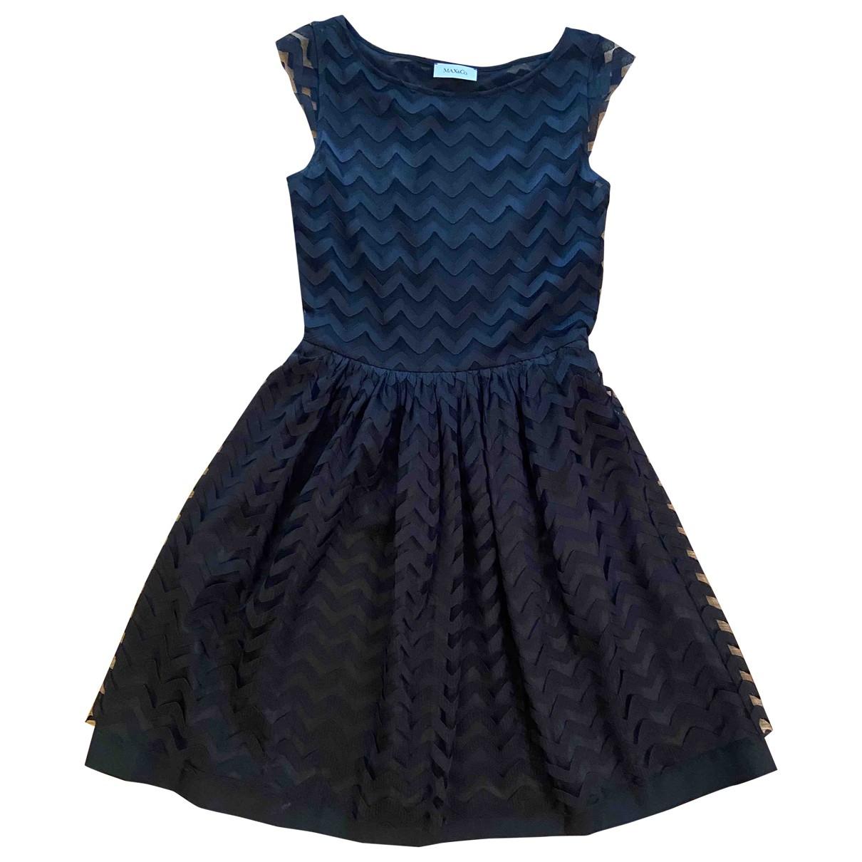 Max & Co \N Black dress for Women XS International