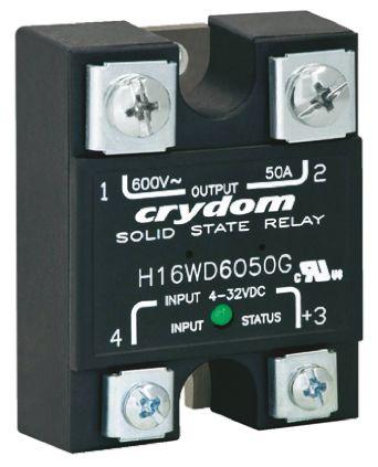 Sensata / Crydom 25 A Solid State Relay, DC, Panel Mount, 660 V ac Maximum Load