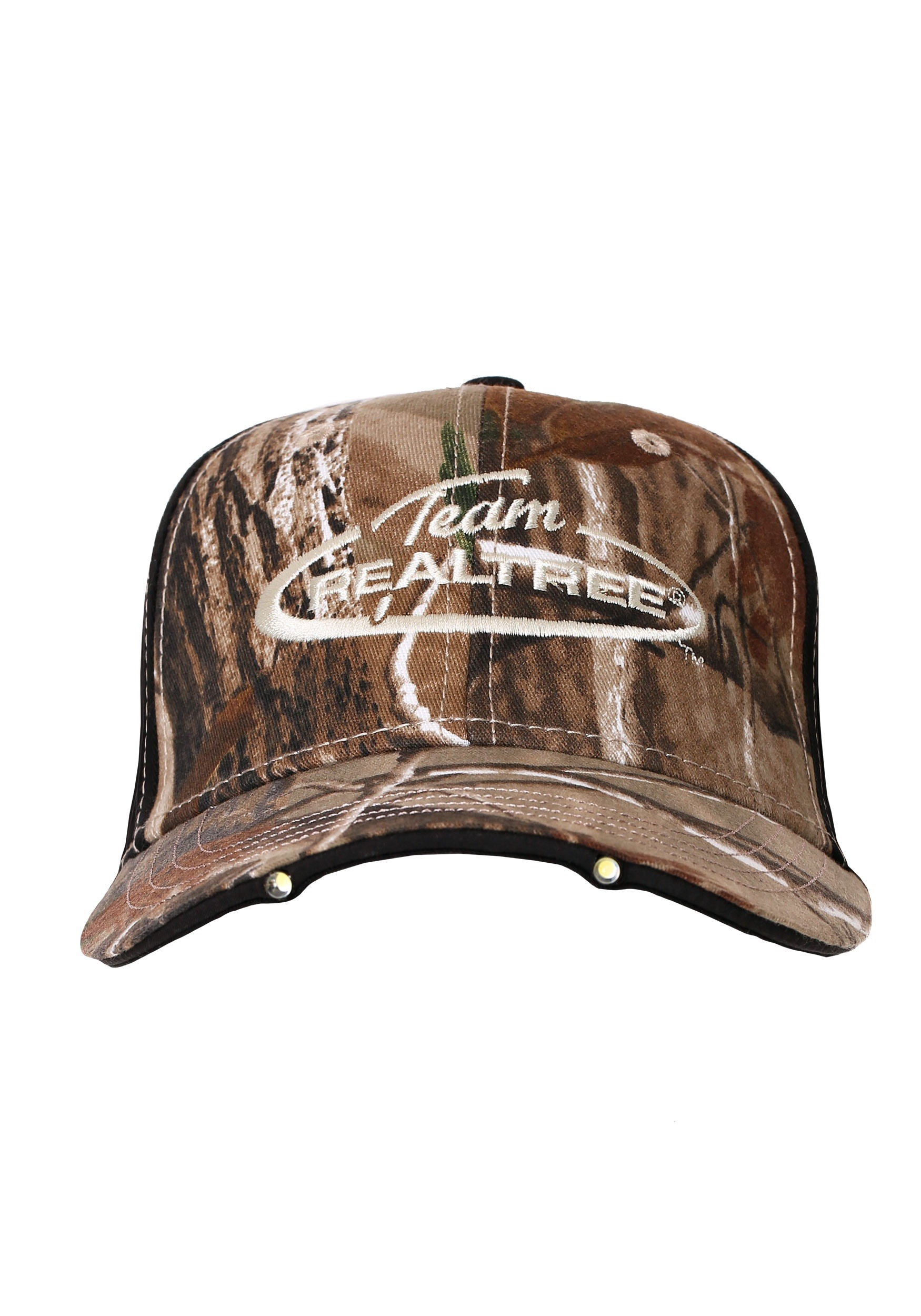 Team Realtree Camo Hat with LED Lights in Visor