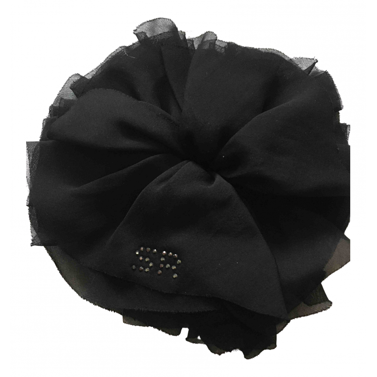Sonia Rykiel N Black Silk Pins & brooches for Women N