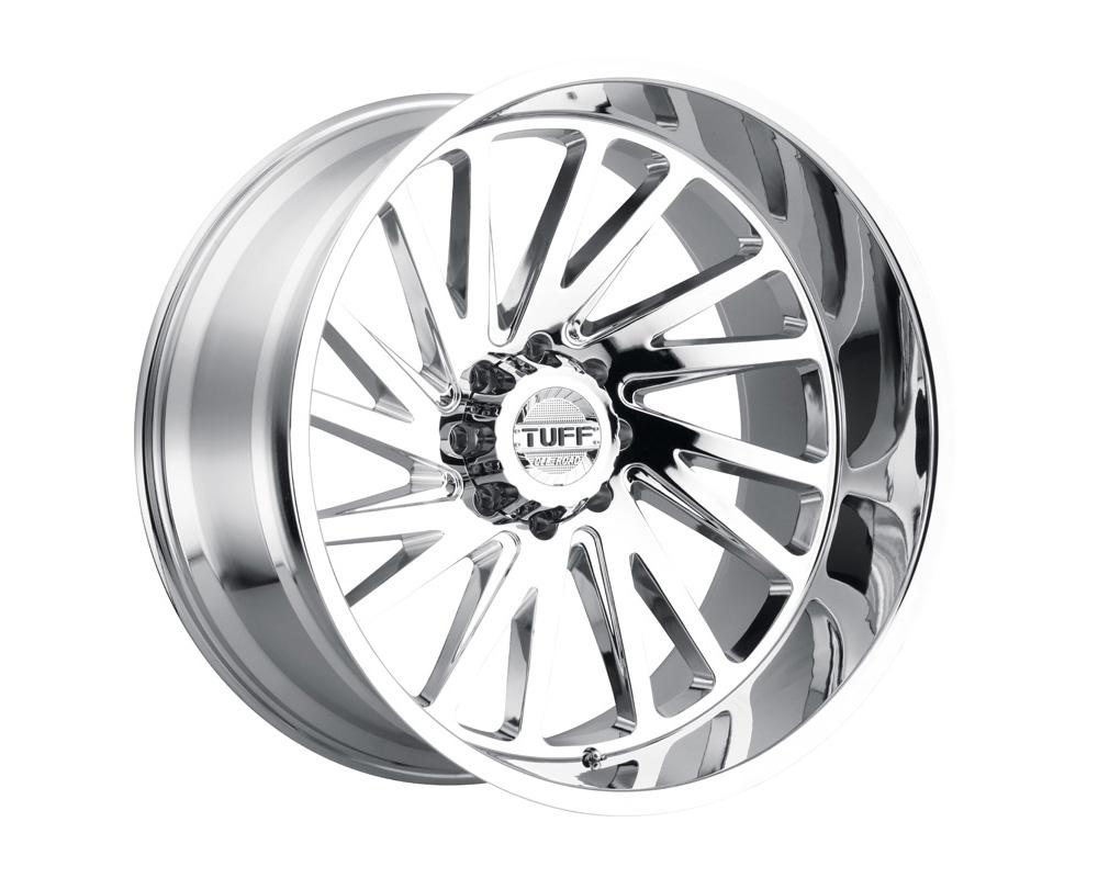 TUFF T2A Wheel 22x12 5x127|5x5 -45mm Chrome