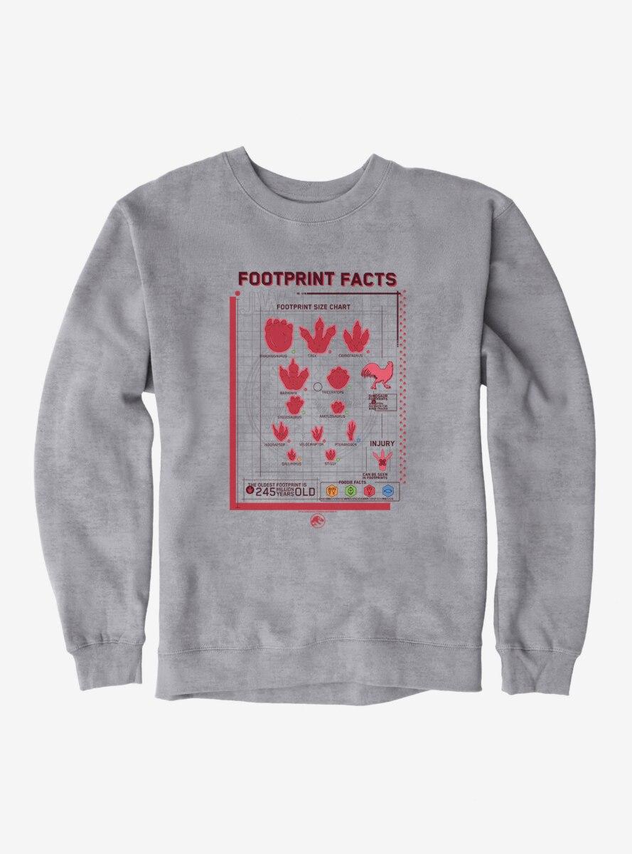 Jurassic World Footprint Facts Sweatshirt
